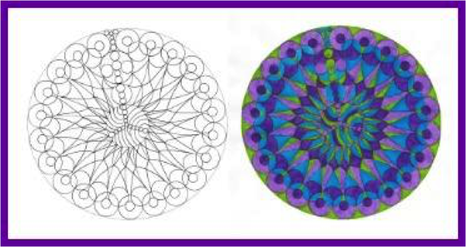 The healing power of colouring mandalas: A burnout recovery gift