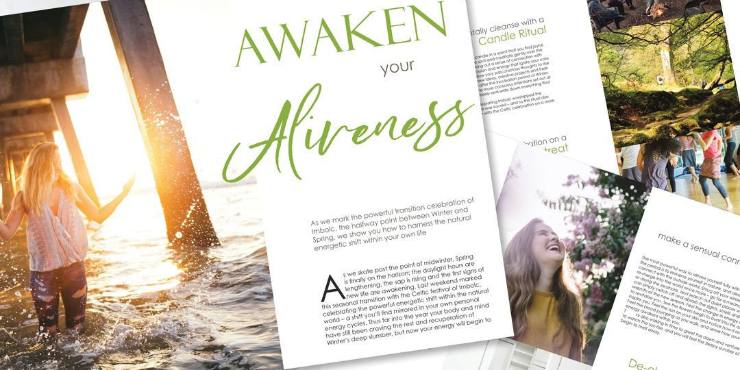 Awaken your Aliveness – how to enhance your natural energy this February
